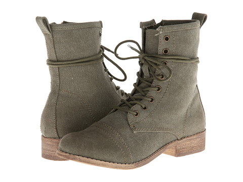 MIA - Wayne (Khaki Canvas) Women's Zip Boots