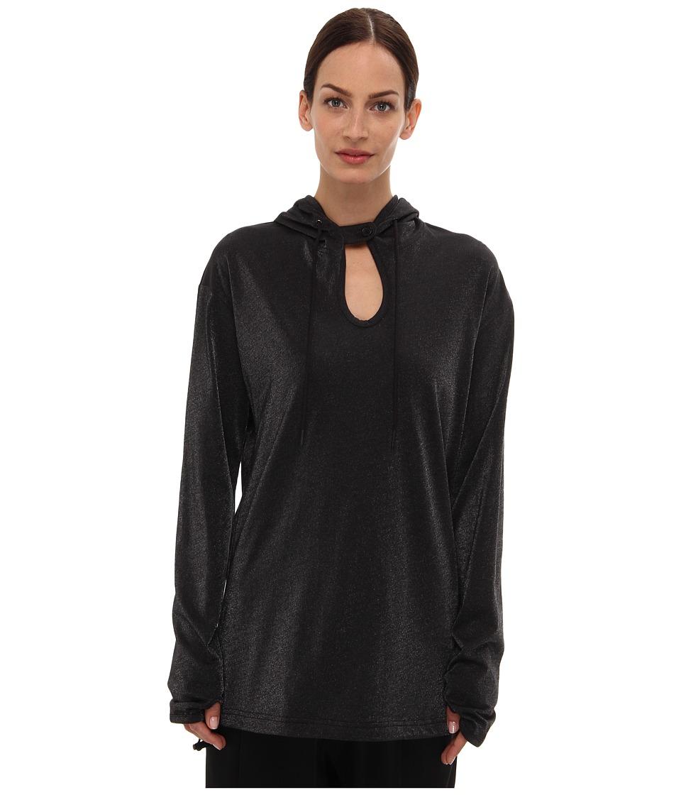 adidas Y-3 by Yohji Yamamoto - Sparkle Hoody (Black) Women's Sweatshirt