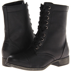 MIA Fayme (Black Faux) Footwear