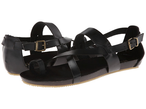 MIA - Gypsie (Black Faux Leather) Women's Shoes