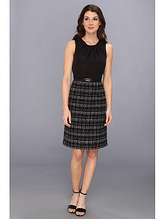 SALE! $62.99 - Save $76 on Jones New York Sleeveless Dress w Luster Bodice (JBlack) Apparel - 54.68% OFF $139.00