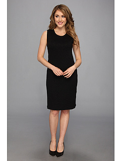 SALE! $32.99 - Save $66 on Jones New York Sleeveless Scoop Neck Dress (JBlack Black Lu) Apparel - 66.68% OFF $99.00