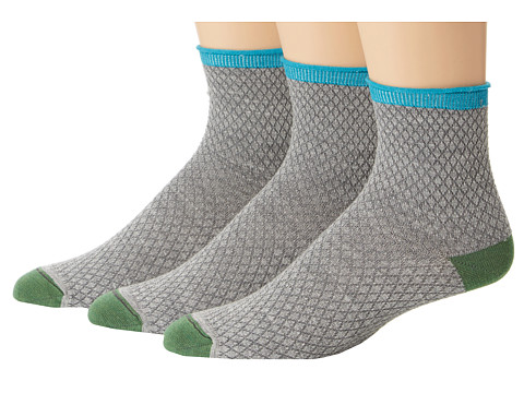 Goodhew - Pebble Stitch 3-Pack (Light Grey) Women