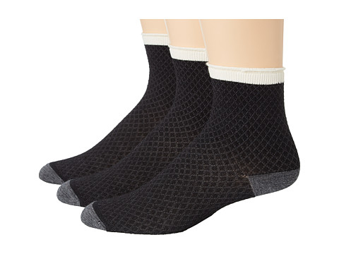 Goodhew - Pebble Stitch 3-Pack (Black) Women
