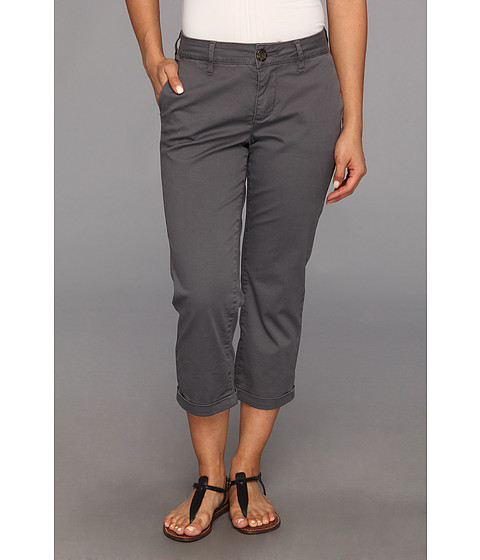 Jag Jeans Petite - Petite Cora Slim Crop in Grey Stone (Grey Stone) Women's Casual Pants
