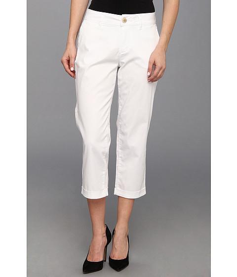 Jag Jeans Petite - Petite Cora Slim Crop in White (White) Women's Jeans