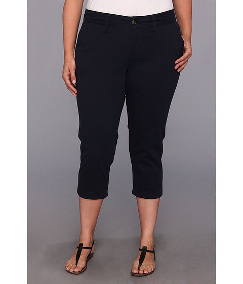 Jag Jeans Plus Size - Plus Size Cora Crop (Nautical Navy) Women's Capri