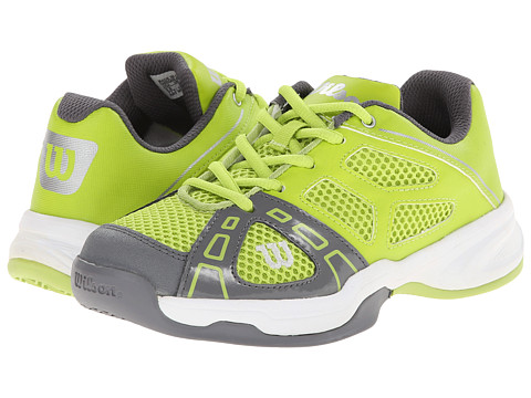 Wilson Kids - Rush Pro Junior (Little Kid/Big Kid) (Green Glow/Graphite) Kids Shoes