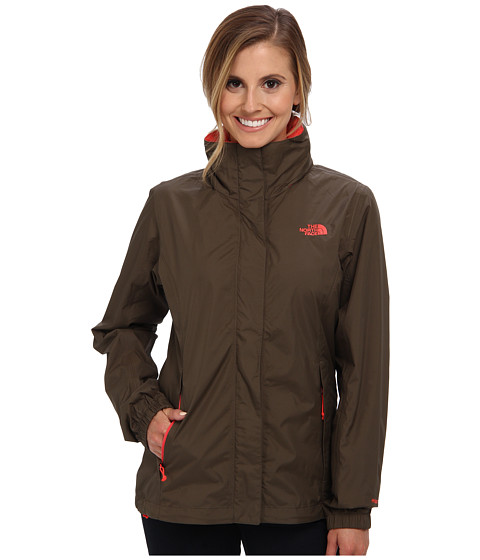 The North Face - Resolve Jacket (New Taupe Green) Women's Jacket