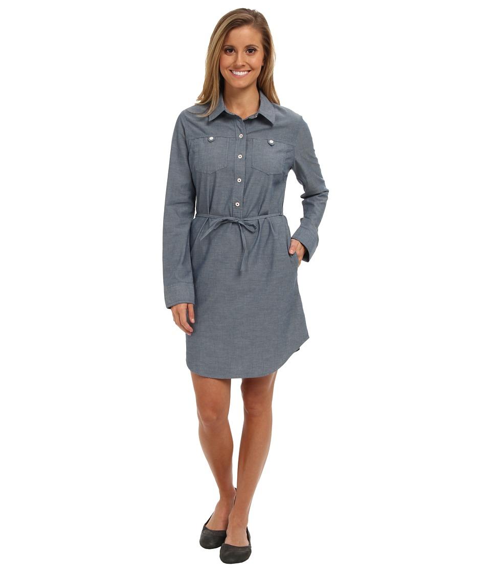 Patagonia - Featherstone Dress (Chambray/Glass Blue) Women's Dress