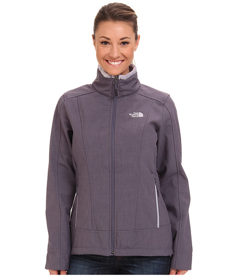 The North Face - Chromium Thermal Jacket (Greystone Blue Heather) Women's Coat