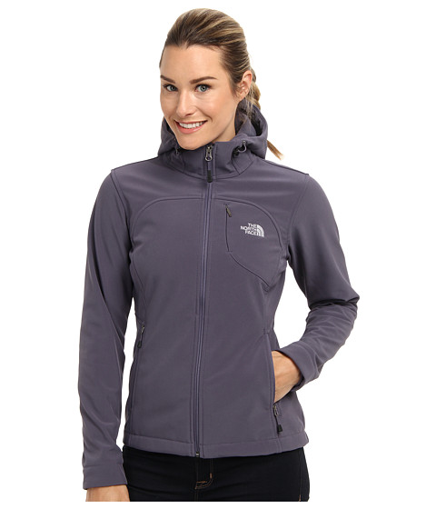 The North Face Apex Bionic Hoodie (Greystone Blue) Women's Coat