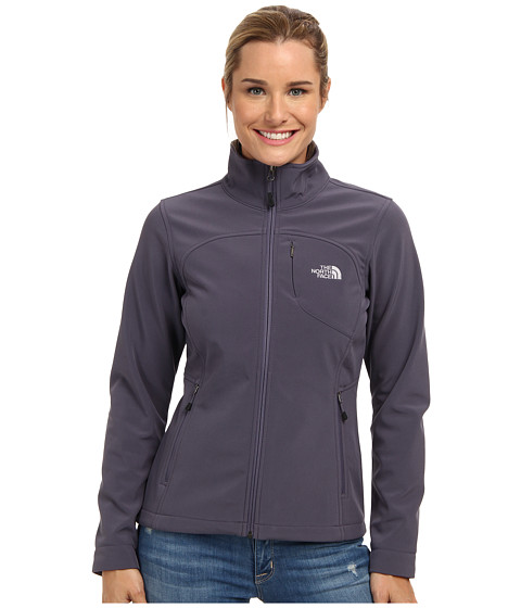 The North Face - Apex Bionic Jacket (Greystone Blue) Women's Coat