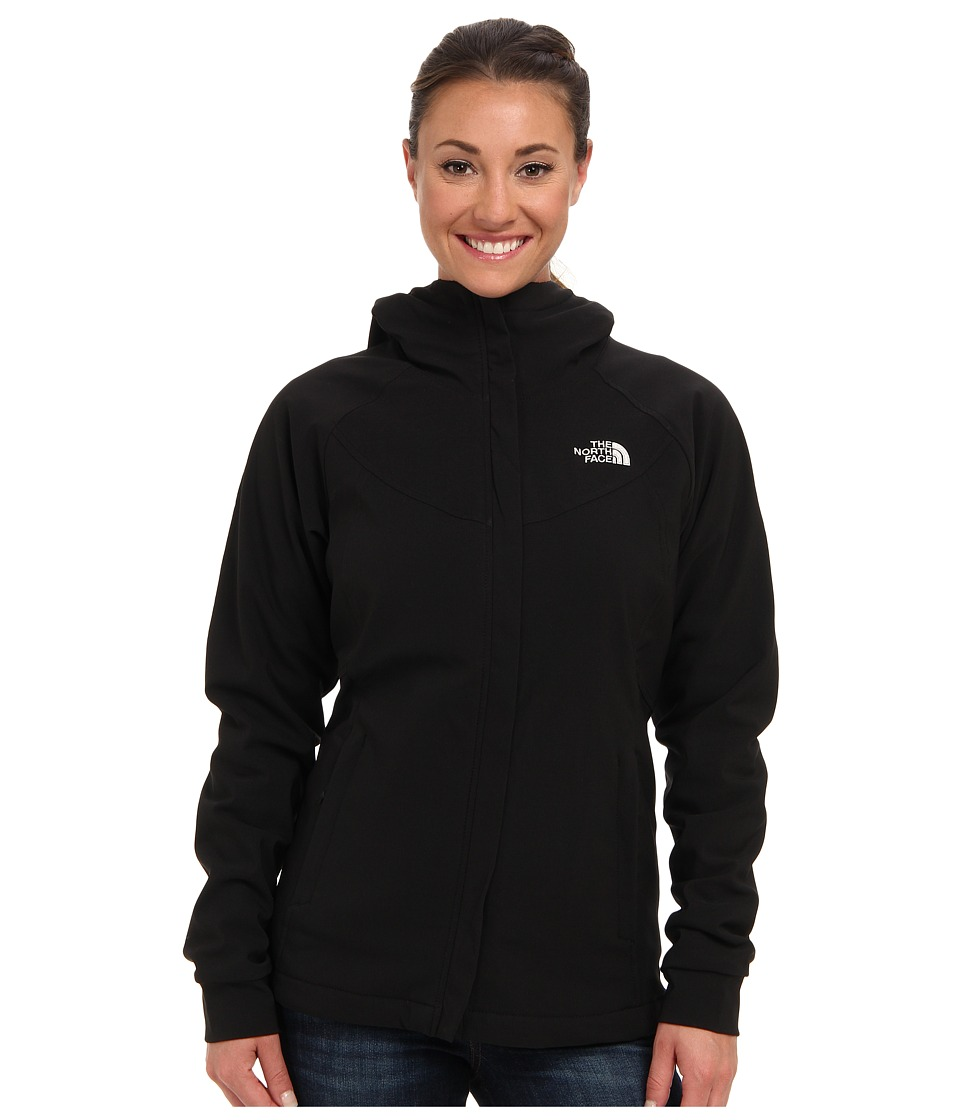 The North Face - Maddie Raschel Hoodie (TNF Black/TNF Black) Women's Coat