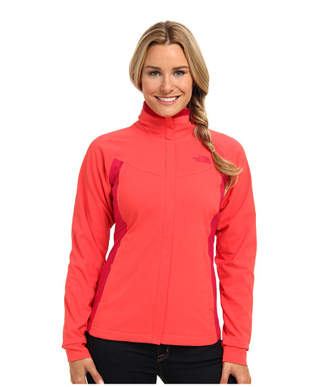 The North Face - Ruby Raschel Jacket (Rambutan Pink/Cerise Pink) Women