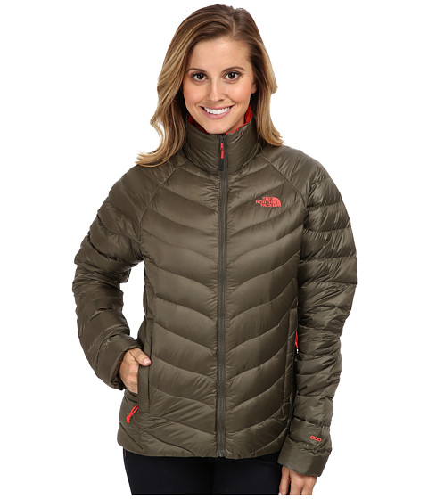 The North Face - Thunder Jacket (New Taupe Green) Women's Coat