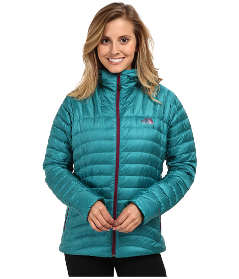 The North Face - Tonnerro Hooded Jacket (Fanfare Green) Women's Coat