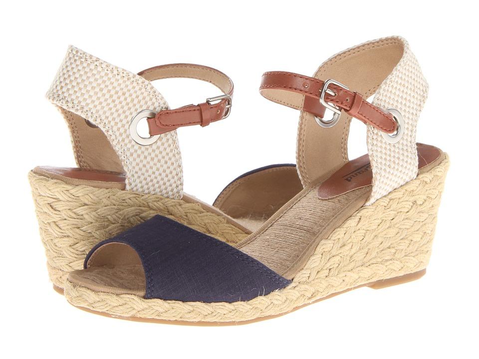 Lucky Brand Kyndra Womens Wedge Shoes (Blue)
