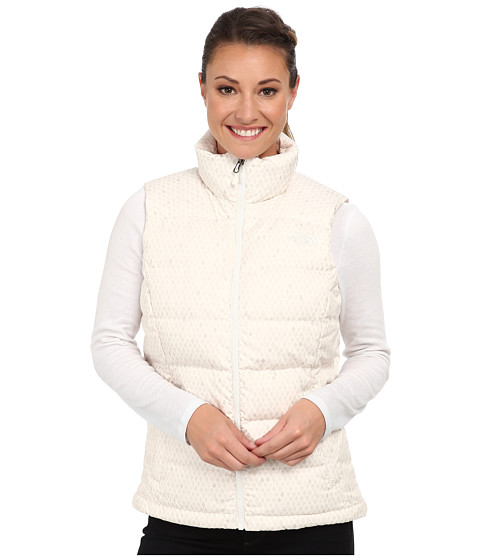 The North Face - Nuptse 2 Vest (Gardenia White Ditsy Print) Women's Vest