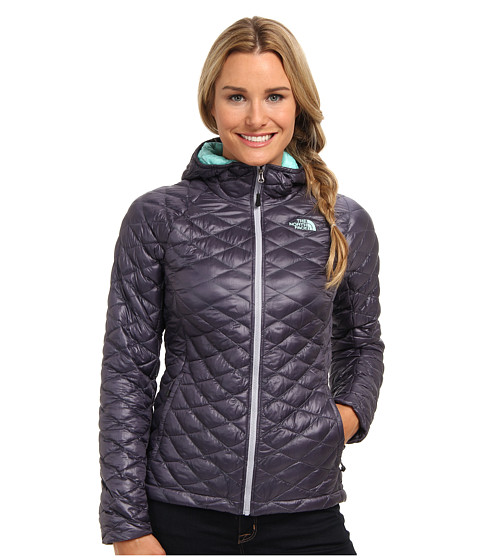 c70ff1dc4744 UPC 887867894023 product image for The North Face ThermoBall Hoodie  (Greystone Blue) Women s Coat ...