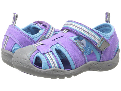 pediped - Sahara Flex (Toddler/Little Kid) (Lavender Turquoise) Girl's Shoes
