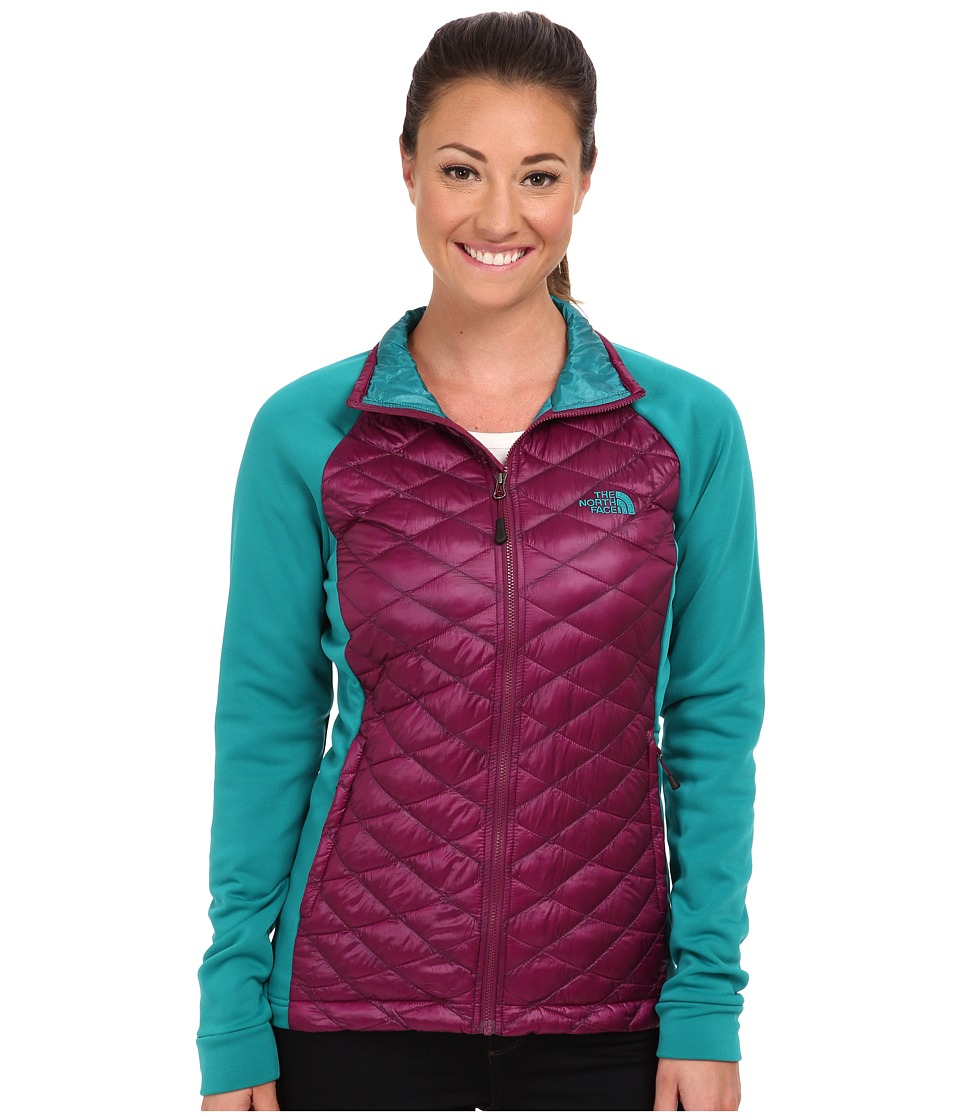The North Face - Momentum ThermoBall Hybrid Jacket (Parlour Purple) Women