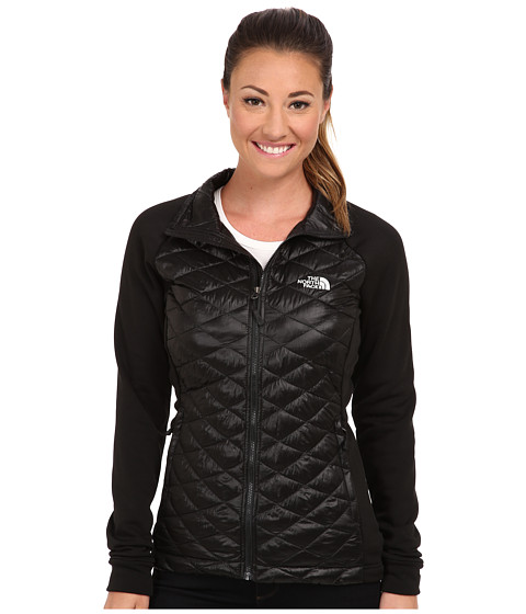 The North Face - Momentum ThermoBall Hybrid Jacket (TNF Black/TNF Black) Women