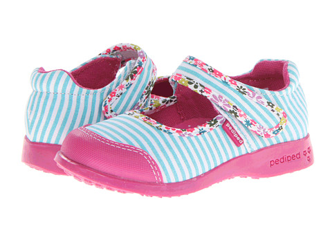 pediped - Bree Flex (Toddler/Little Kid) (Seashore) Girl's Shoes