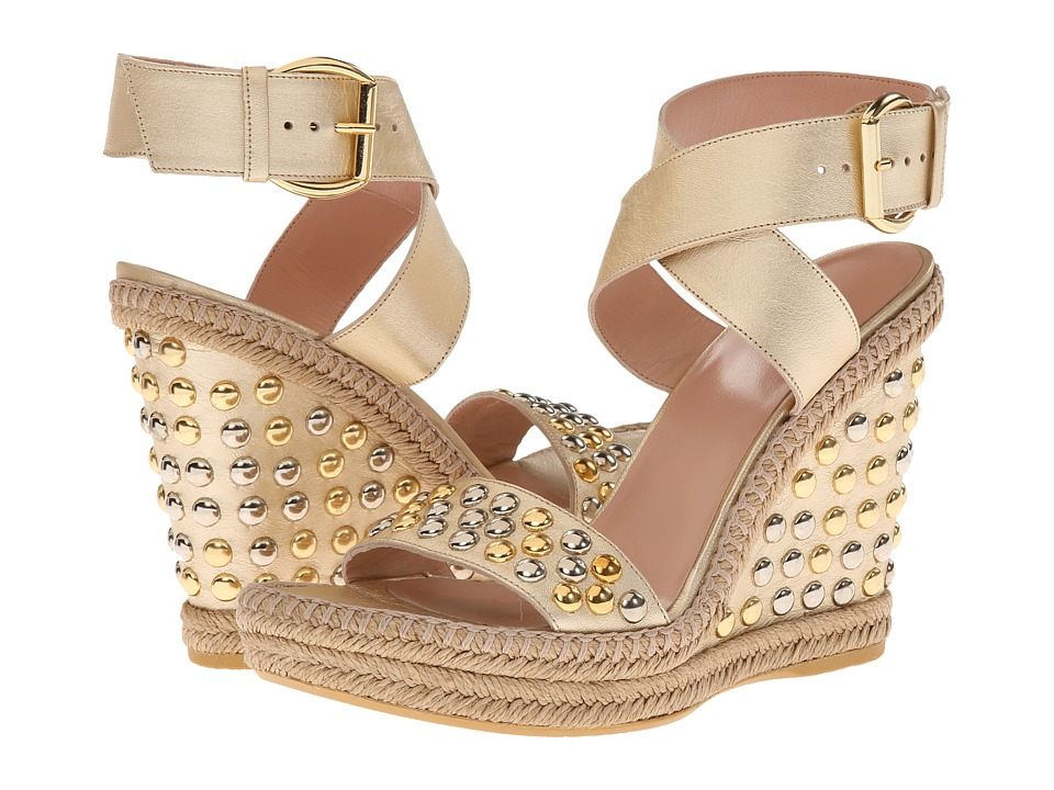 Stuart Weitzman - Hubcapbullets (Cava Nappa) Women's Dress Sandals
