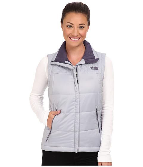 The North Face - Red Slate Vest (Dapple Grey) Women's Vest