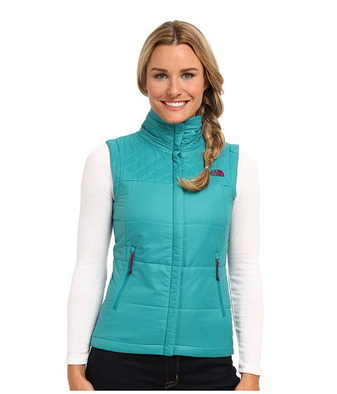 The North Face - Red Slate Vest (Fanfare Green) Women's Vest