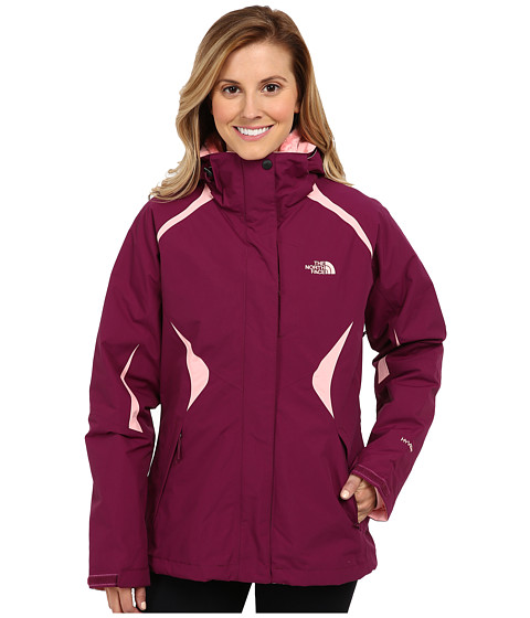 The North Face - Boundary Triclimate Jacket (Parlour Purple/Parlour Purple/Ballet Pink) Women's Coat