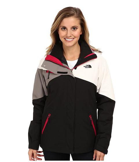 Pink Black And White North Face