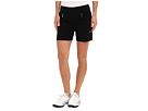 Jamie Sadock Skinnylicious 15 in. Short with Control Top Mesh Panel (Black)