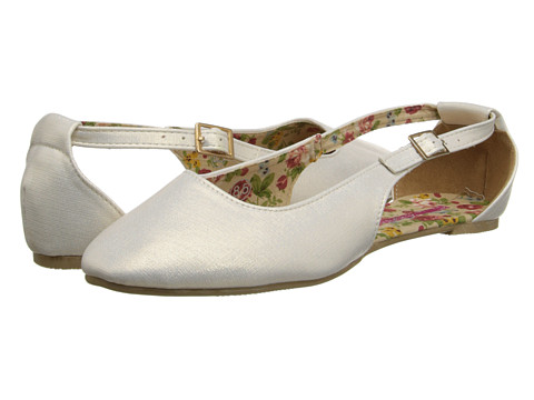 C Label - Juno-8A (Cream) Women's Dress Flat Shoes