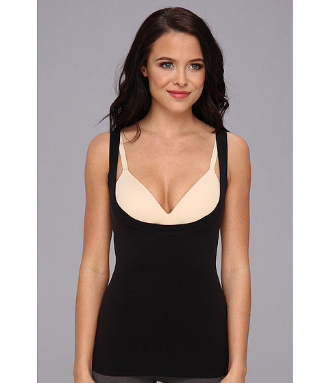 Spanx - Strappy-Go-Lucky Open-Bust Tank (Black) Women's Sleeveless