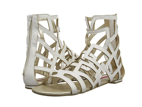 C Label - Leaf-15 (White) Women's Sandals
