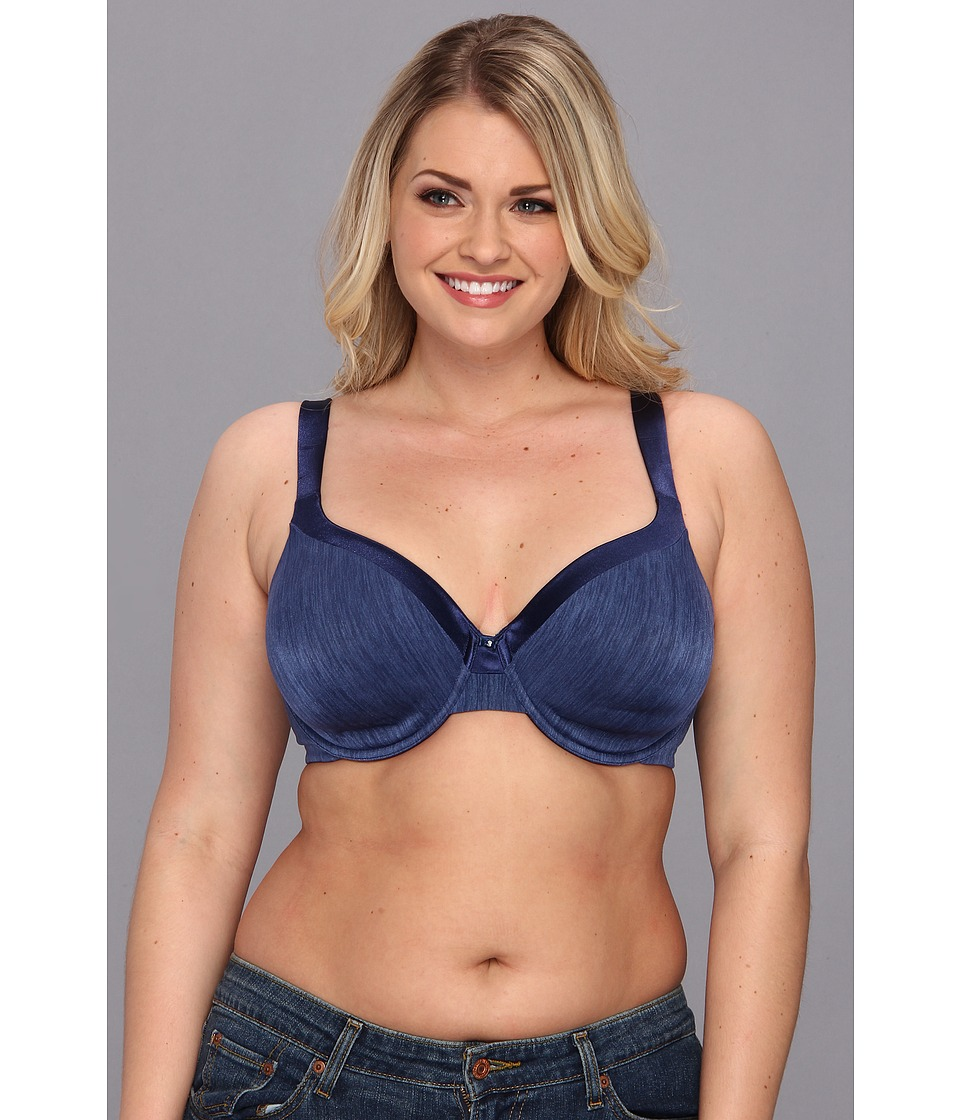 Vanity Fair - Illumination Full Figure Contour Bra (Times Square Navy) Women's Bra
