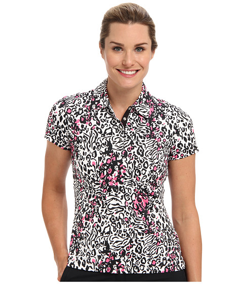 Tail Activewear - Evelyn Performance Polo (Jungle Print) Women