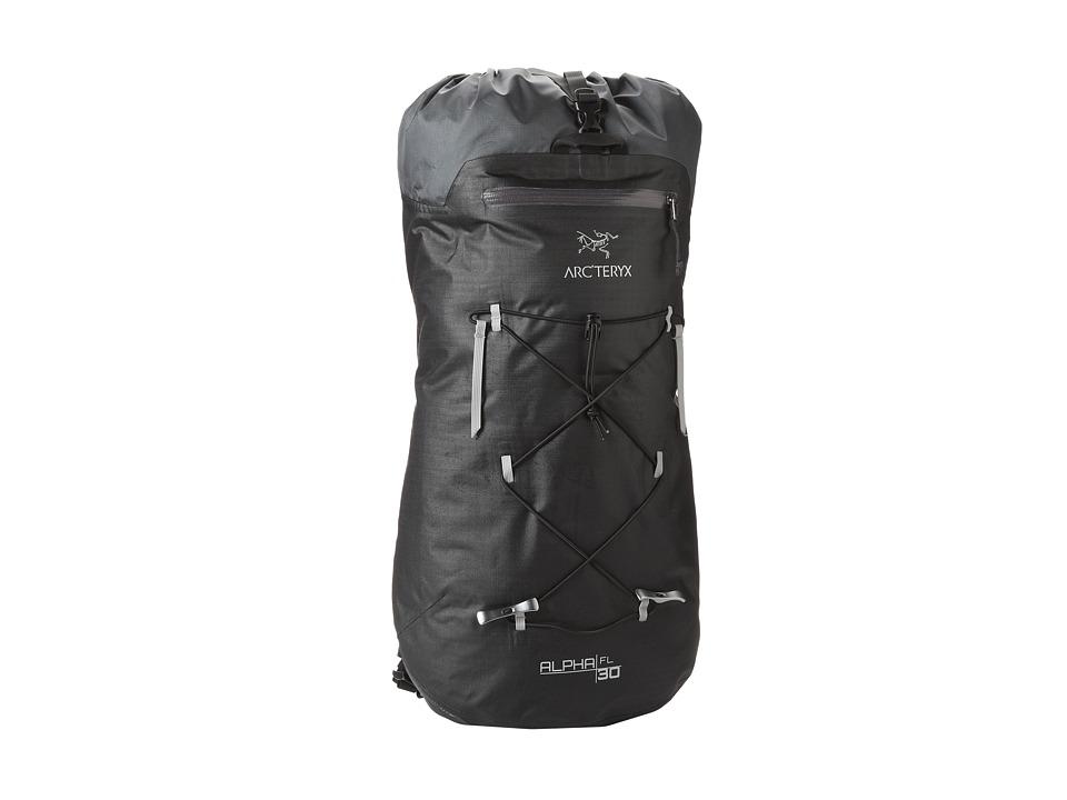Arc'teryx - Alpha FL 30 Backpack (Black) Backpack Bags