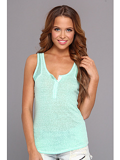 SALE! $17.99 - Save $10 on UNIONBAY Annette Lace Trim Tank (Spring Green) Apparel - 35.75% OFF $28.00