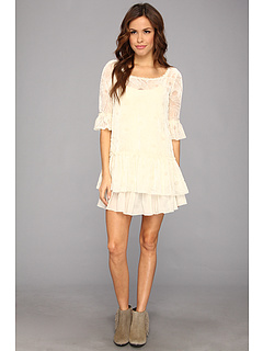 SALE! $71.99 - Save $56 on Free People Zen Garden Dress (Alabaster) Apparel - 43.76% OFF $128.00