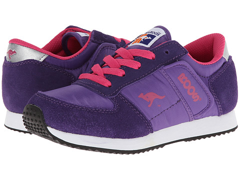 KangaROOS Kids - Combat (Little Kid) (Purple/Hot Pink) Kids Shoes