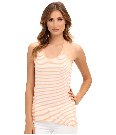 UNIONBAY - Kendra Striped Tank Top (Bright Tangerine) Women's Sleeveless