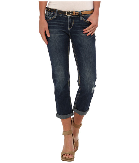 UNIONBAY - London Cropped Jean (Faded Indigo) Women