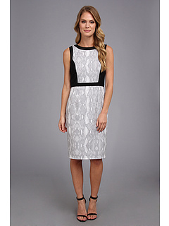 SALE! $45.99 - Save $82 on Calvin Klein Python Printed Lux Sheath (Tin Multi) Apparel - 64.07% OFF $128.00