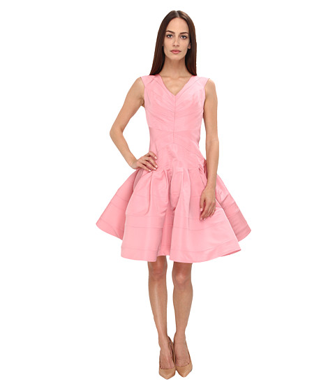 Zac Posen - ZP-CL01-5018-42 (Spring Rose) Women's Dress