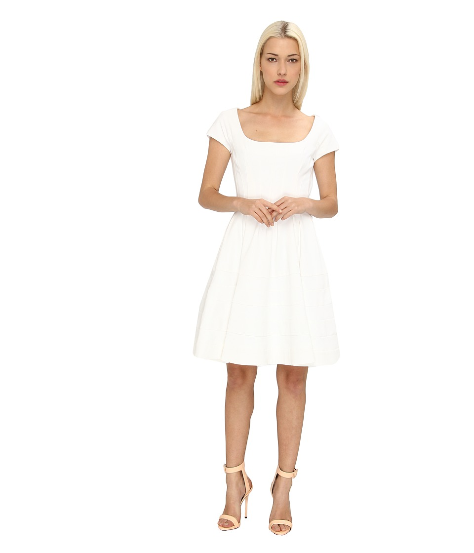 Zac Posen - ZP-09-5067-42 (Optic White) Women's Dress