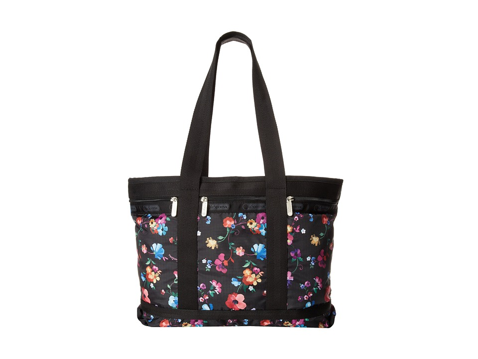 LeSportsac Luggage - Medium Travel Tote (Impressionist Flower) Tote Handbags