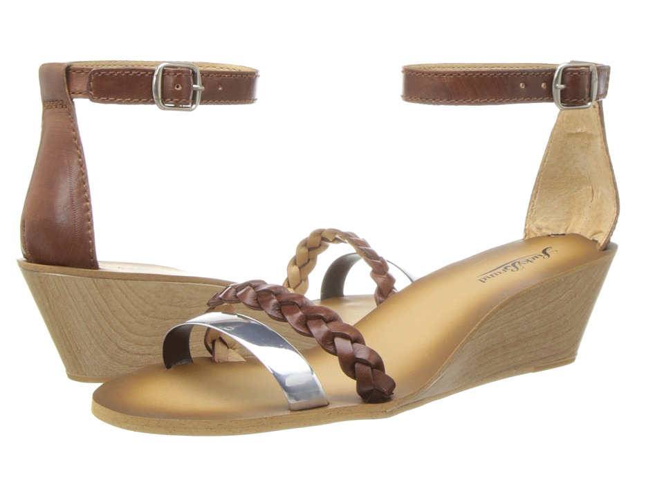 Lucky Brand - Leeds (Brick/Silver) Women's Sandals